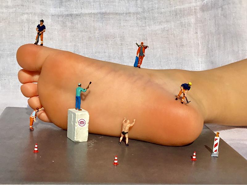Energetische Fußreflexzonenmassage, Fußreflexzonen-Massage, Tübingen
