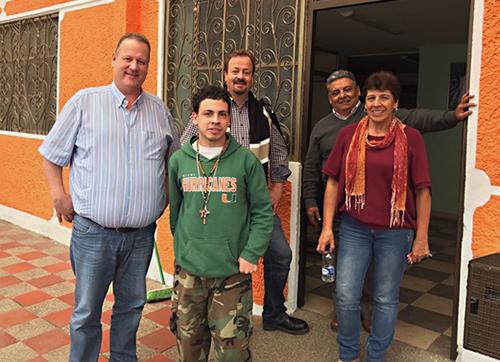 Schuhmuckl e.V. Bogotá-Hogar Kolumbien, Stefan Schuhmacher, Magnus Schuhmacher